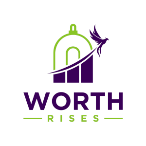 Worth Rises company logo